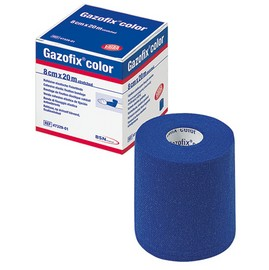 Gazofix® color blau 8cm x 20m latexfrei