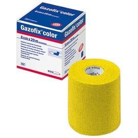 Gazofix® color gelb 8cm x 20m latexfrei