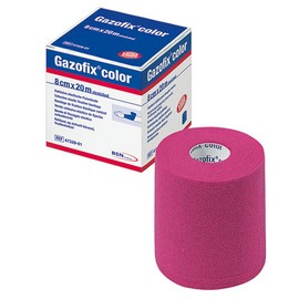 Gazofix® color pink 8cm x 20m latexfrei